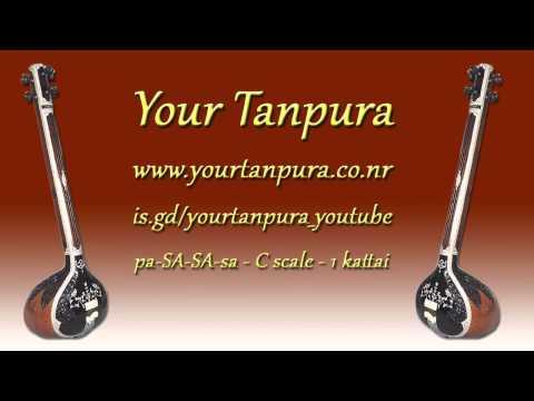 Your Tanpura - C Scale - 1 kattai