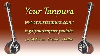Your Tanpura - C Scale - 1 kattai