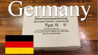 "German Type 2 24 hour Ration ""Einmannpackung Typ 2"""