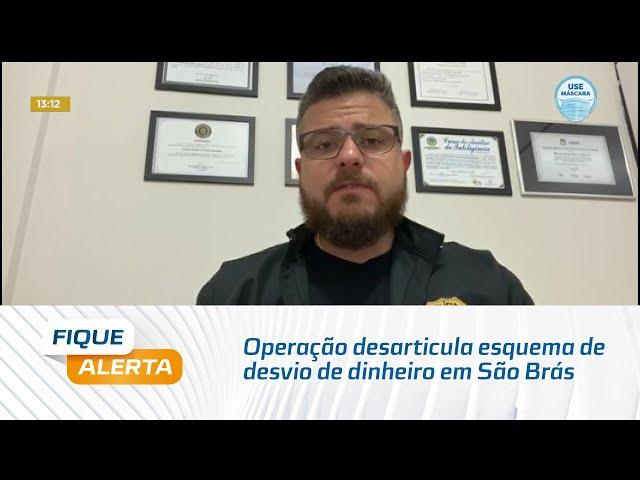Operação desarticula esquema de desvio de dinheiro na câmara de vereadores de São Brás