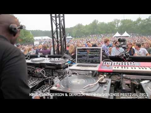 Kevin Saunderson & Derrick May @ Awakenings Festival 2011