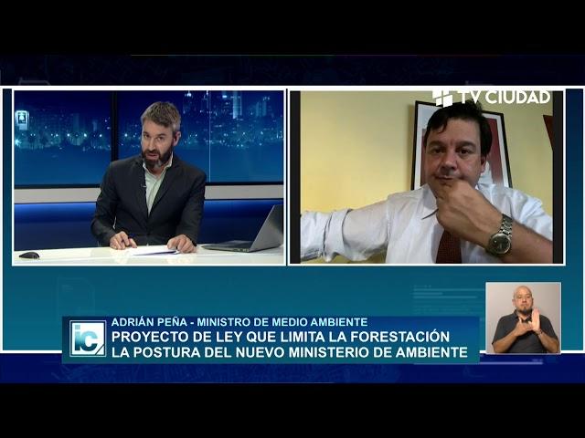 Informe Capital | Entrevista a Adrián Peña - Ministro Medio Ambiente