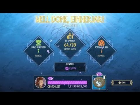 Tribes of Midgard World record? No armor 8 day clear SOLO |