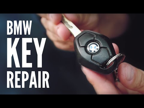How to Repair BMW E46 3 Series Remote Key