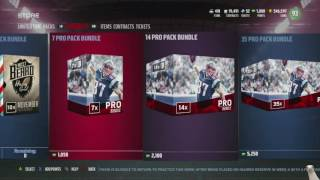 i m literally not supposed to be doing this 17 elite pulls totw bundle madden 17 ultimate team