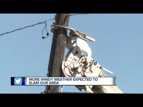 More windy weather expected for metro Detroit