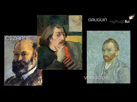Những trường phái hội họa hiện đại trên thế giới - Phần 1