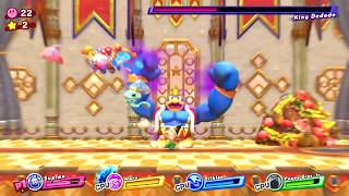 Kirby Star Allies #02 More Boss Fight Gameplay