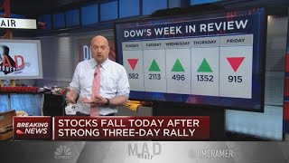 Jim Cramer previews the trading week of March 30 on Wall Street