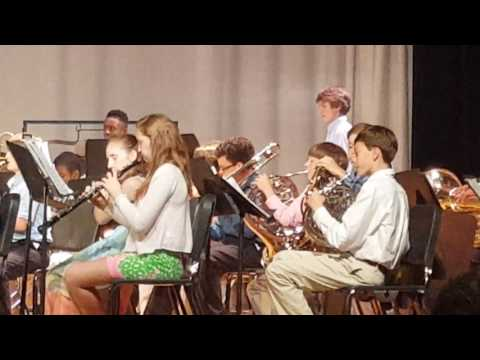 Crayton Middle School Spring Concert May 2016