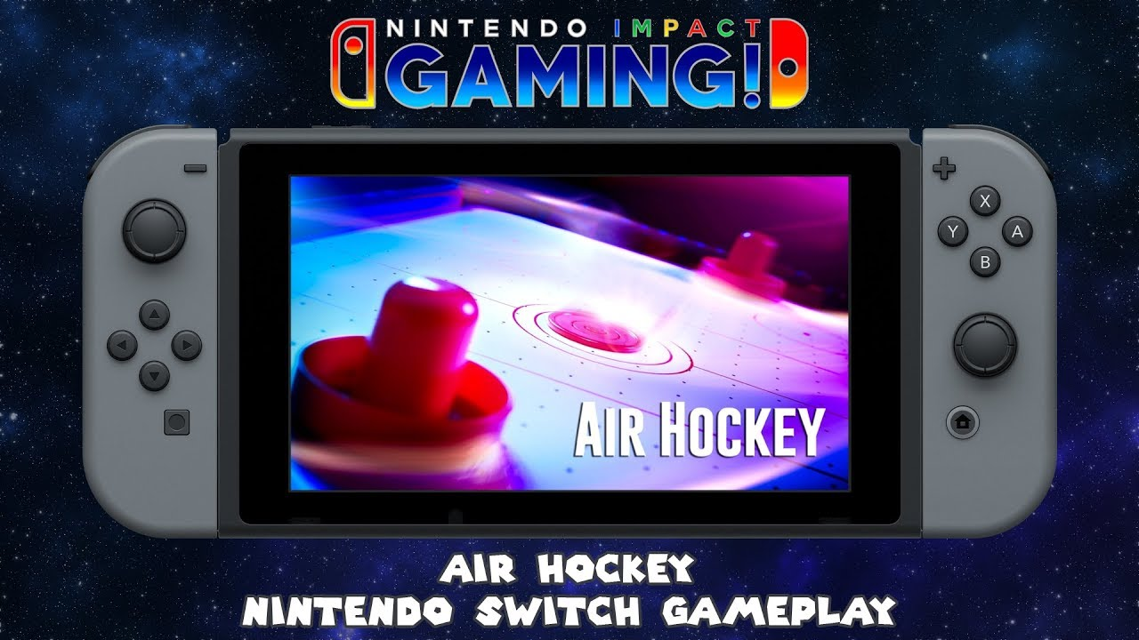 Air Hockey Nintendo Switch Gameplay Youtube