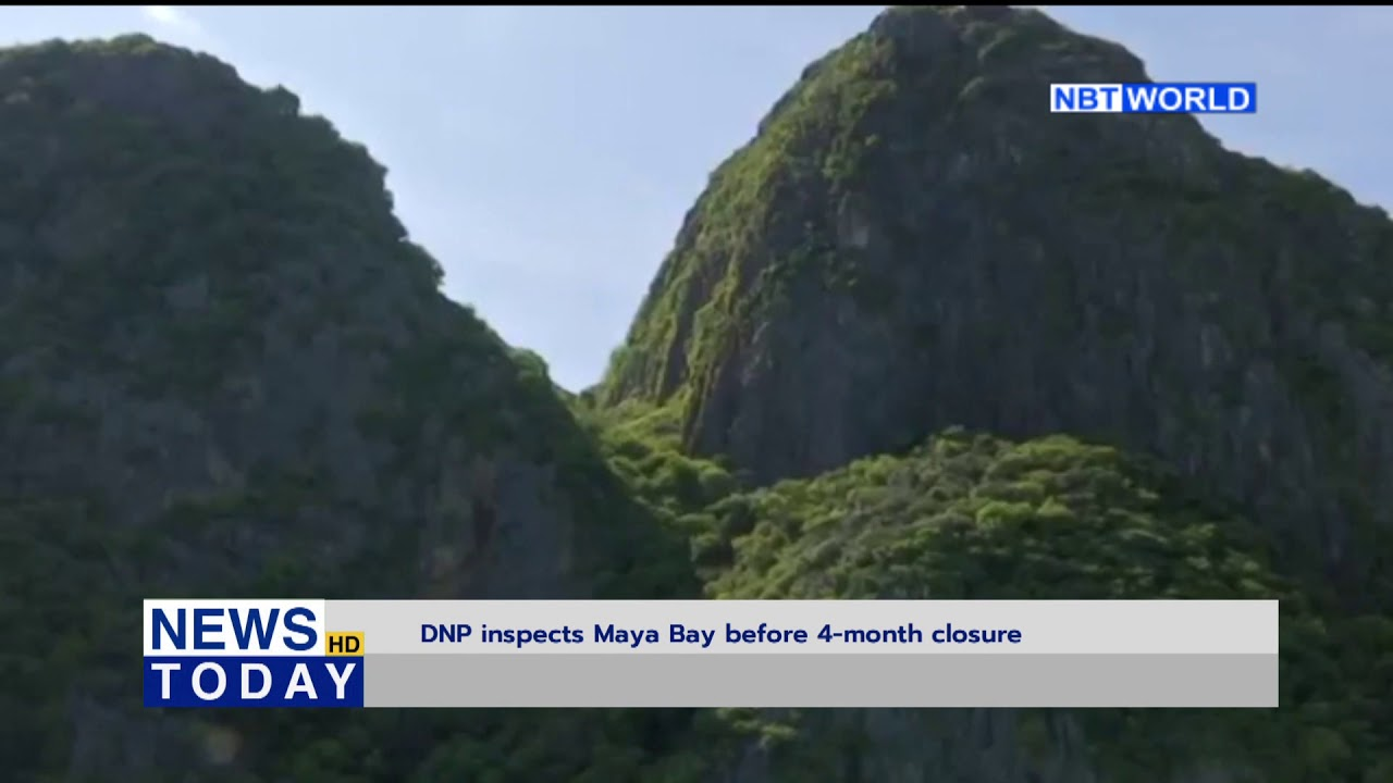 DNP inspects Maya Bay before 4 month closure