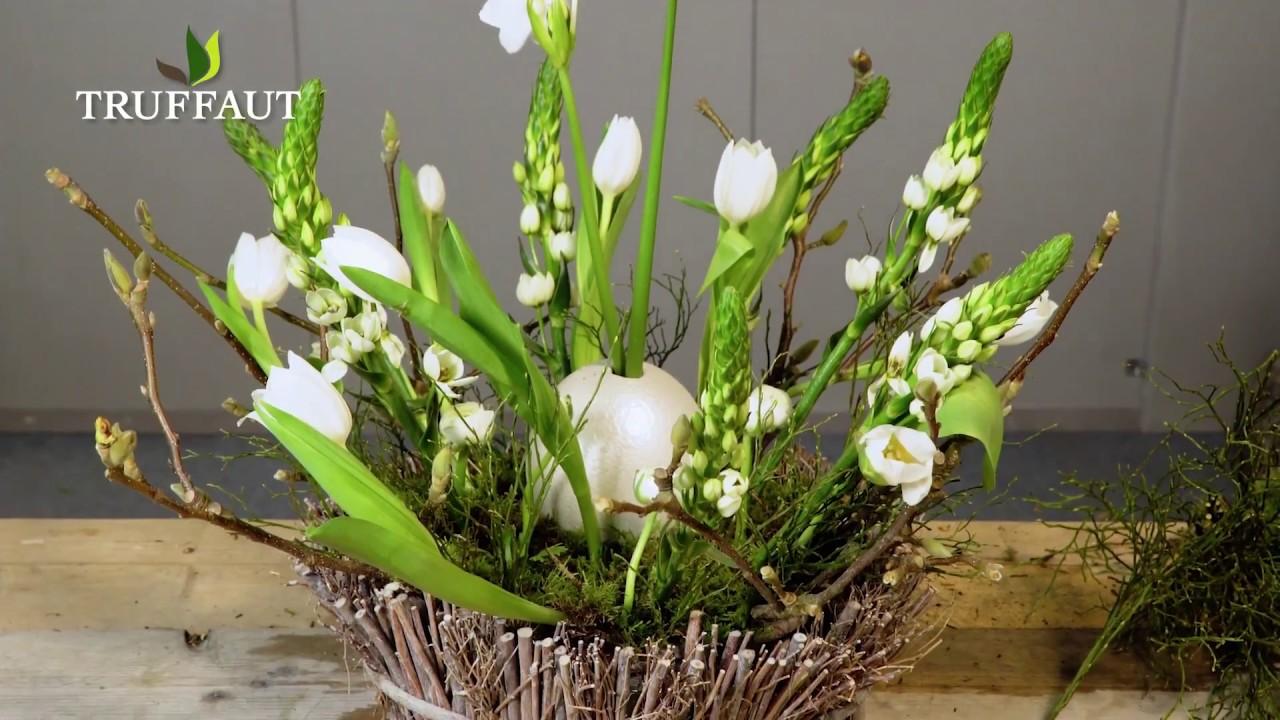 art floral composition champ tre jardinerie truffaut. Black Bedroom Furniture Sets. Home Design Ideas