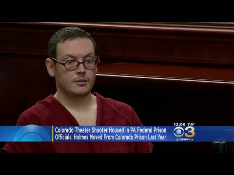 Colorado Theater Shooter James Holmes Moved To Pennsylvania Prison