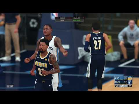 NBA 2K18 Denver Nuggets vs Memphis Grizzlies