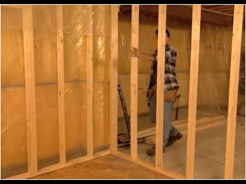 Vlogs 34 construir una pared divisoria parte 1 youtube - Construir en madera ...