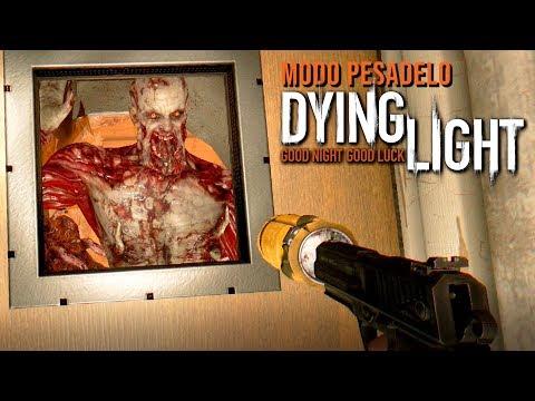 Dying Light (MODO PESADELO) - HORDA DE ZUMBIS VOLÁTEIS #25 (CO-OP PT-BR)