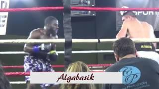 Казахский боксер в Америке Мадияр Ашкеев