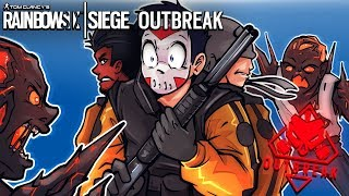 Rainbow Six Siege DON T EAT US 3 Player Co op ZOMBIES