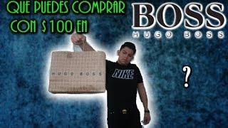 QUE PUEDES COMPRAR CON $100 EN HUGO BOSS?! *INCREIBLE*