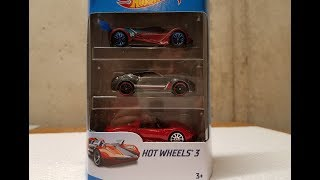 Hot Wheels 3-pack quick review