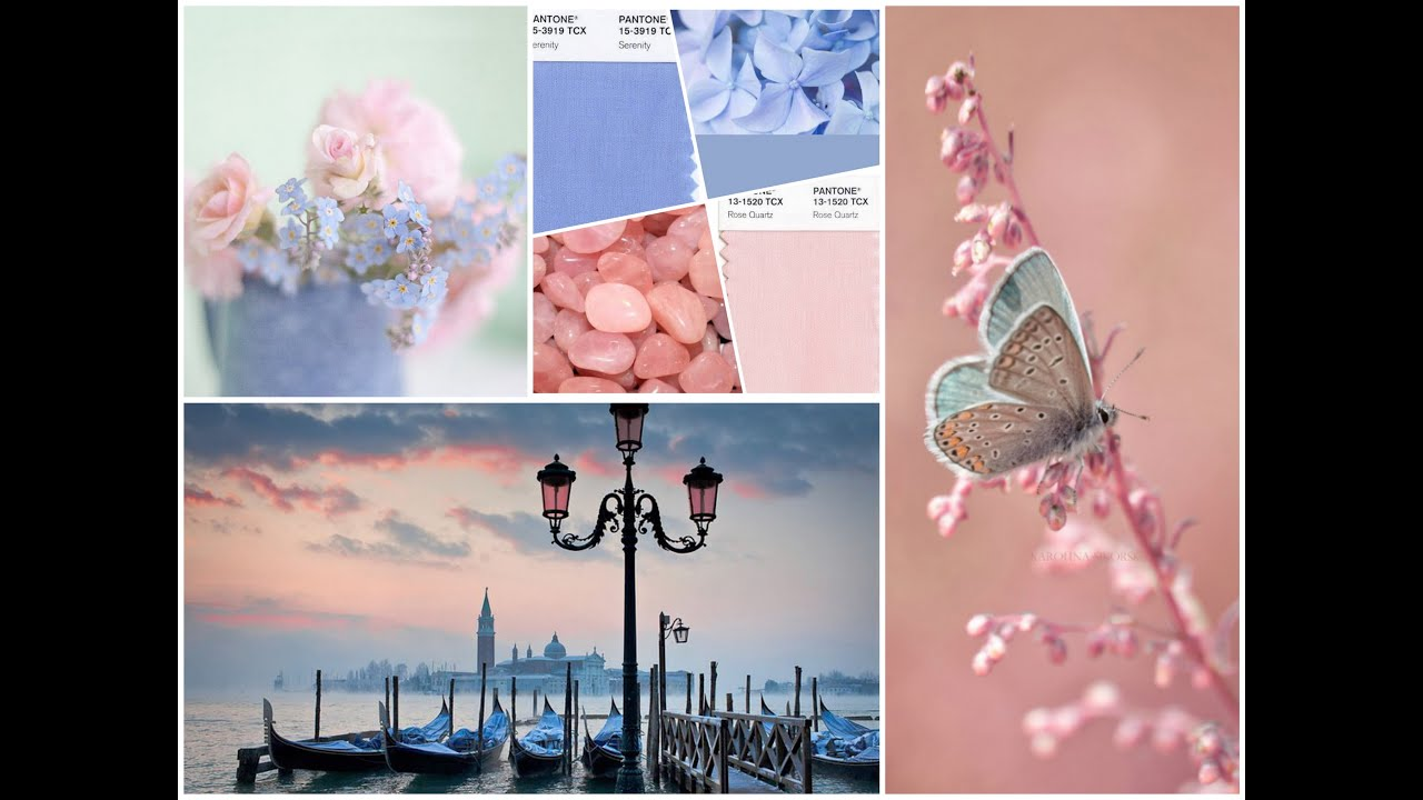 Pantone Color 2016 Inspo For The Pantone Color Of The Year For 2016 Rose Quartz Serenity Pastel Colors Palette