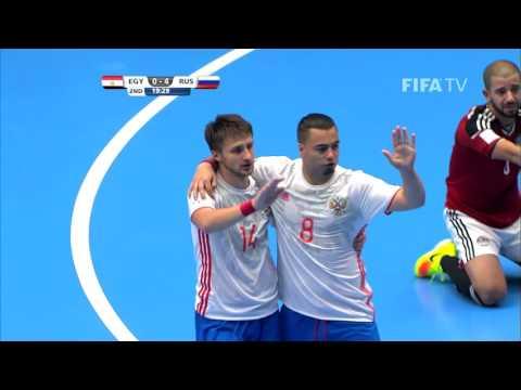 Match 16: Egypt v Russia - FIFA Futsal World Cup 2016