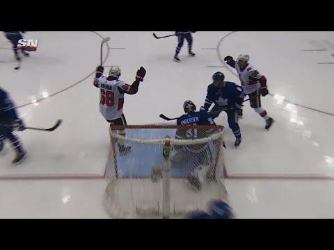 Duchene feeds Hoffman who beats Andersen to extend Senators' lead