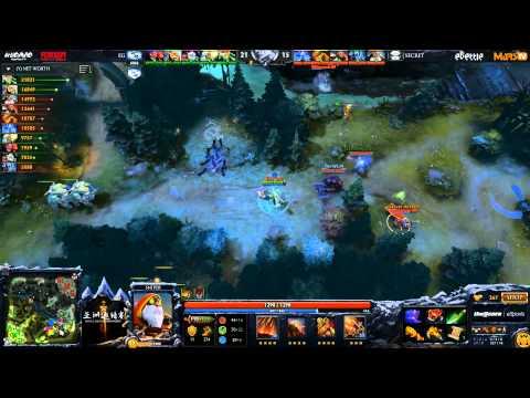 EG vs Secret - DAC 2015 - Consolidation Finals - G2