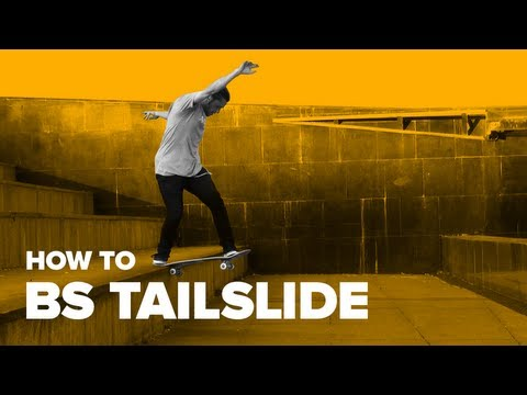 How to BS Tailslide on a Skateboard