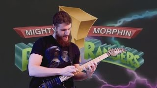 Go Go Power Rangers (Mighty Morphin Power Rangers Theme Song) | METAL GUITAR REMIX
