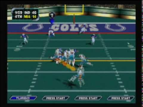 NFL Blitz 2000 - Colts vs Dolphins (Second Half)