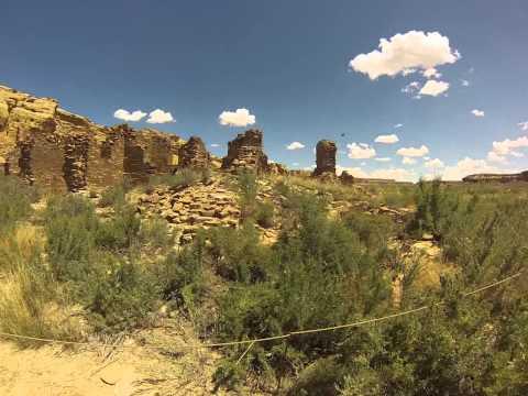 The Ruins at Wijiji Trail, Chaco Canyon