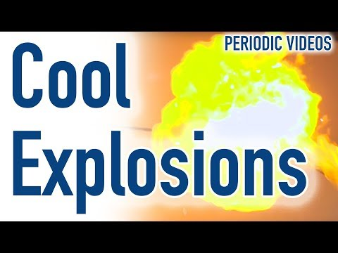 Cool Explosions and Bags of Hydrogen – Periodic Table of Videos