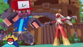 A WILD BLAZIKEN APPEARED!!!! [#8] | Minecraft: Pokémon Trinity [Pixelmon]