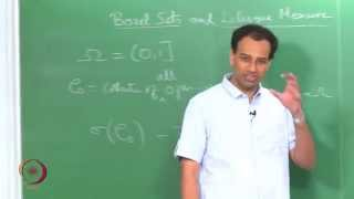 Mod-01 Lec-09 BOREL SETS AND LEBESGUE MEASURE-1