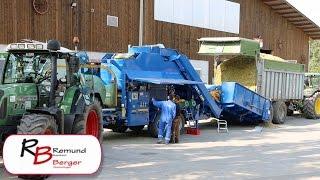 Remund und Berger: Maisballenpressen
