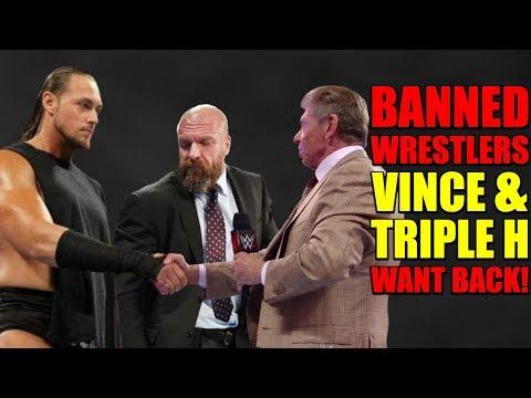 5 BANNED WWE Wrestlers Vince McMahon SECRETLY Wants Back And 5 BANNED Wrestlers Triple H Wants Back!