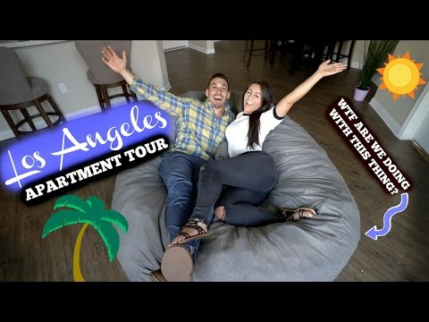 LA Apartment Tour 2017 | Fully Furnished, MOVED IN!