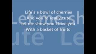 Lindsay Pagano- Fruit Of My Love Lyrics