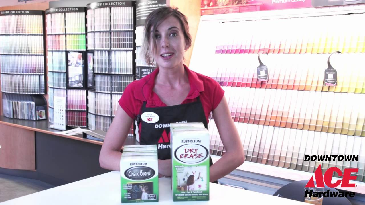 ace hardware chalk paint Chalk and Dry Erase Paint   Ace Hardware   YouTube ace hardware chalk paint