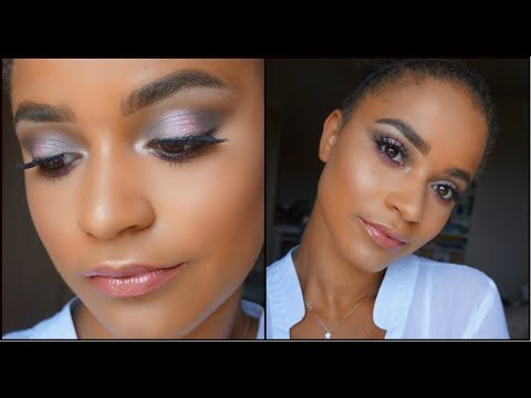 COOL TONED & GLAM CHIT CHAT MAKEUP TUTORIAL