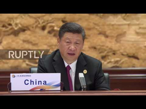 China: Xi Jinping rejects 'protectionism' during speech at Belt and Road Forum