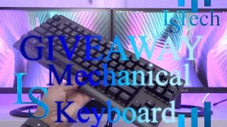 GIVEAWAY   Mechanical Keyboard   GooBang Doo   Bopower KB1   Backlit 87 Keys   Blue Switches   OPEN
