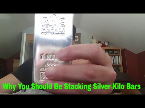 Why You Should Be Stacking Silver Kilo Bars