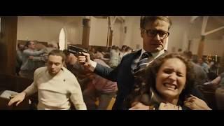 Kingsman The Secret Service - Church Fight.