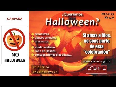 116 CISNE Radio campaña No al Halloween sí a Cristo