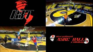 International Basketball Training: Conditioning Drill on The Gun Shooting Machine