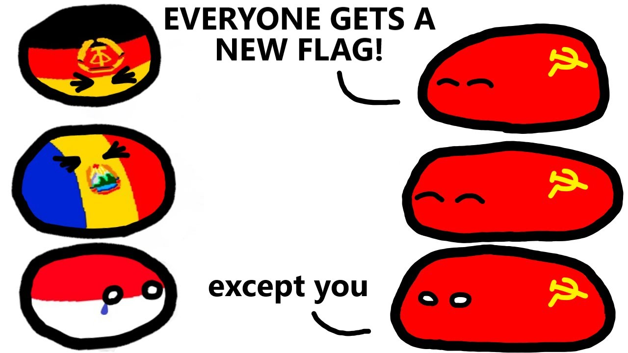 Poland cannot into new flag...