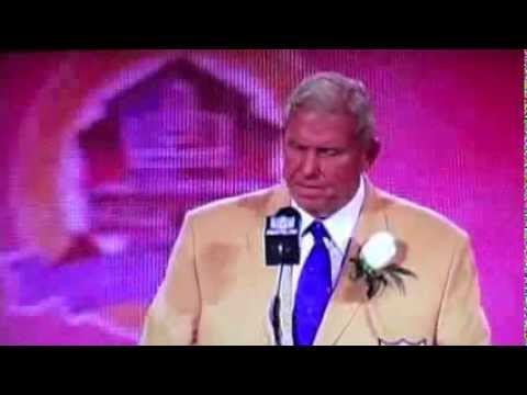 Bill Parcells Hall of Speech - What Makes a Great Team